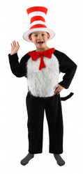 Funny Cat in the Hat Halloween Costume