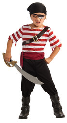 Black Jack the Pirate Kids Costume