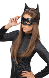 Dark Knight Rises Catwoman Headpiece Mask & Goggles