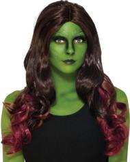 Gamora Wig Guardians of the Galaxy