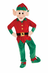 Jolly Elf Christmas Parade Mascot Costume