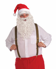 Deluxe Long Santa Suspenders