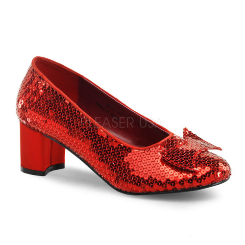 Dorothy Wizard Ruby Red Costume Shoes