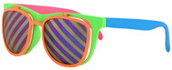 Rad 80s Flip up Sunglasses