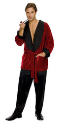 Playboy Hugh Hefner Smoking Costume