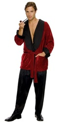 Hugh Hefner Playboy Plus Costume