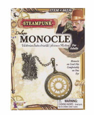 Steampunk Gear Monicle