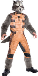 Kids Rocket Raccoon Guardians of the Galaxy Costume