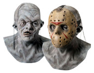 Jason Deluxe Collectors Latex Mask with Hockey Mask