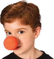 Foam Clown Nose in Black or Red