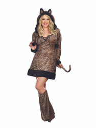 Cheetah-luscious Animal Plus Costume