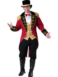 Mens Ringmaster Circus Costume