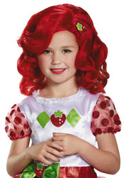 Child Strawberry Shortcake Red Curly Wig