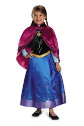 Disney's Frozen Anna Traveling Prestige Costume