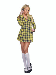 Ladies Fancy Girl Sexy School Uniform Costume