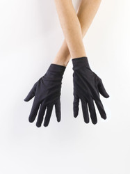 Children's Small Wrist Glove in Black