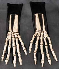 Skeleton Gloves Full Action Molded Gloves