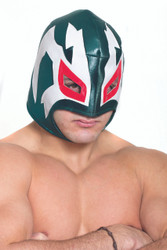 Green Mexican Wrestler Mask
