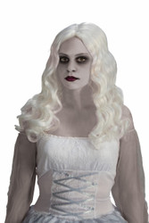 White Spirited Ghost Wig