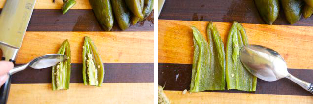 how to deseed jalapenos