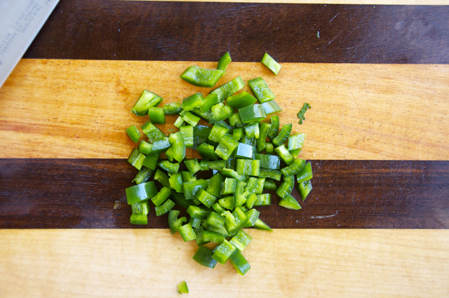 how to dice jalapenos