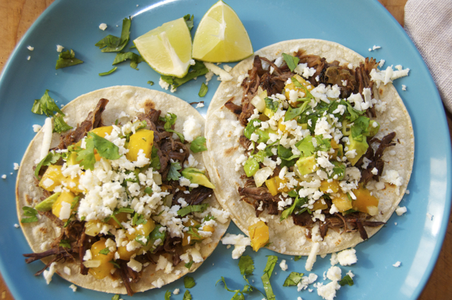 shredded beef street tacos with smokin chipotle