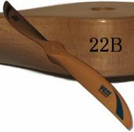 22B wood propeller