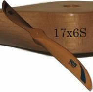 17x6 wood propeller