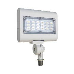 Westgate LED Floodlight with Knuckle - LF3-WH-30WW-KN