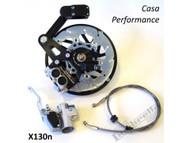 Lambretta Casa Pro Disc Brake Kit Black - SIL GP (DW-CPX130NGP)