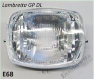 Lambretta Headlight Unit Lens/Reflector Casa GP/DL (90-E68)