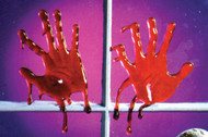 DRIPS OF BLOOD HAND STYLE