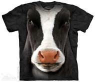BLACK COW FACE