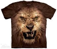 BIG FACE ROARING LION