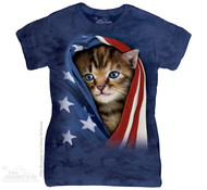 PATRIOTIC KITTEN-LT-S