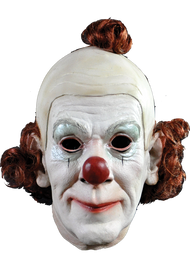 Circus Clown Ltx Face Mask