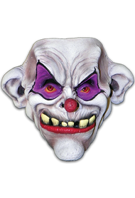 Toofy the Clown is the first Halloween Face Mask to join our Clowns of Death Series, a line of Clown Halloween Masks designed to be the most unique and Scary Clown Halloween Masks ever produced! With Toofy, Erich Lubatti wanted to create a truly Scary Clown that combines the feel of a full head mask with the ease of a face mask, giving fans a horrifying clown that is quick and easy to costume. So get yourself a wig, hat, or hoodie and you're all set to take on the horror circus!  All of our Halloween Face Masks come with a sewn strap to ensure a comfortable fit.