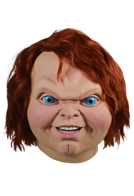 Front View Child's Play 2 Evil Chucky Mask