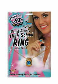 GOING STEADY HIGH SCHOOL RING