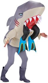 SHARK W/LEGS COSTUME