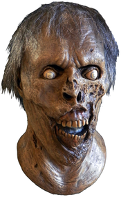 A great Walker mask based on a character from the incredibly popular AMC television show The Walking Dead. 100% latex, full over-the-head mask, individually hand-painted for the best look possible. Hair attached. One size fits most adults.