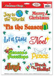 CHRISTMAS CLINGS