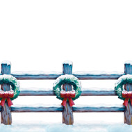 HOLIDAY FENCE BORDER