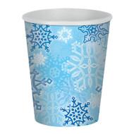 SNOWFLAKE BEVERAGE CUPS