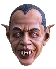 Ever wondered what Barack Obama would look like as a vampire? Well check out this Barackula mask! You will be recognized by everyone at your next Halloween party. Full over the head latex mask, individually hand painted for the most realistic look possible.