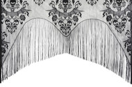 LACE DECOR DAMASK CURTAIN