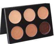 Mehron 6 color skin tone mask cover makeup palette