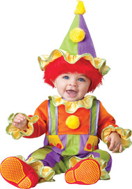 CUDDLY CLOWN TODDLER