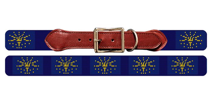 California Flag Dog Collar