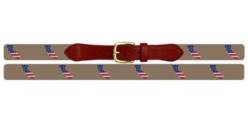 California State Needlepoint Belt